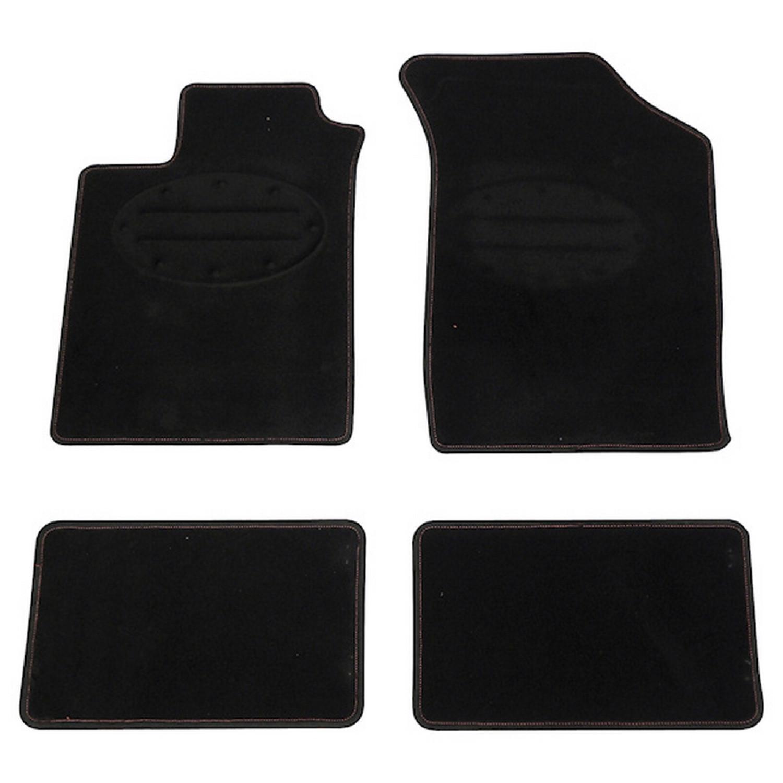 Tapis de sol voiture - Carpoint - Renault - Noir
