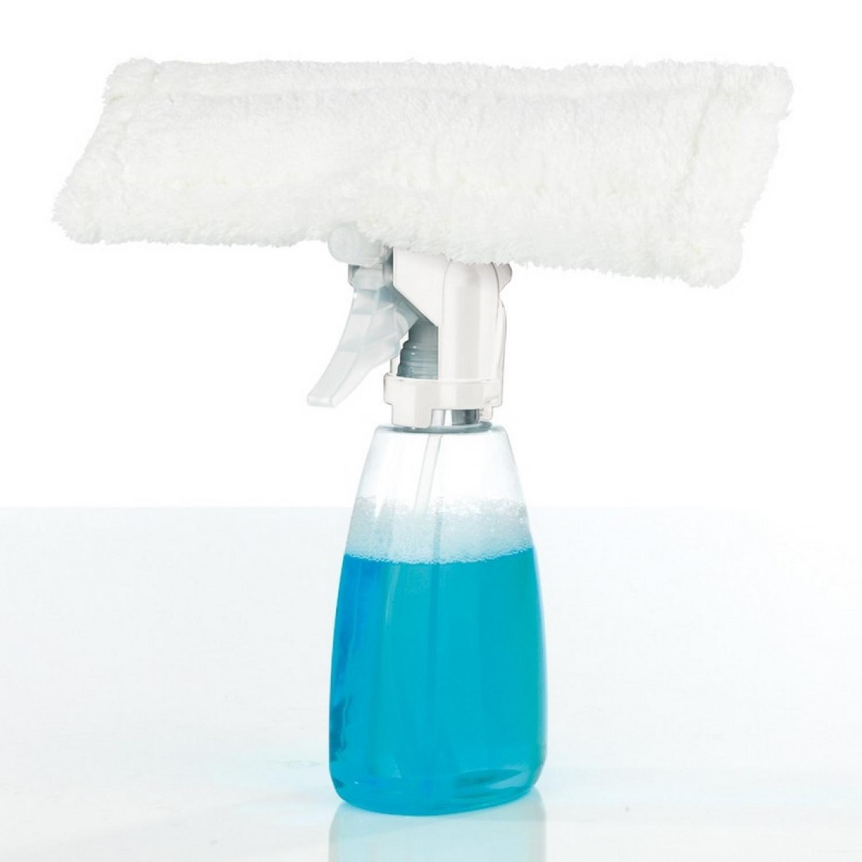 Aspirateur eau et poussière - Accessoire lave vitre - 3en1 - 7.2V