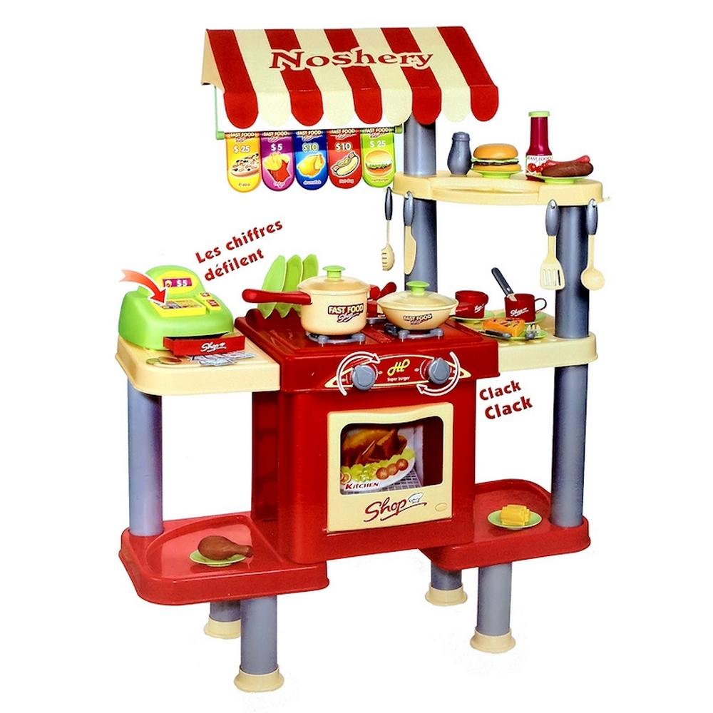 Jouet - Mon premier snack - dinette ET marchande - Rouge pour 39€