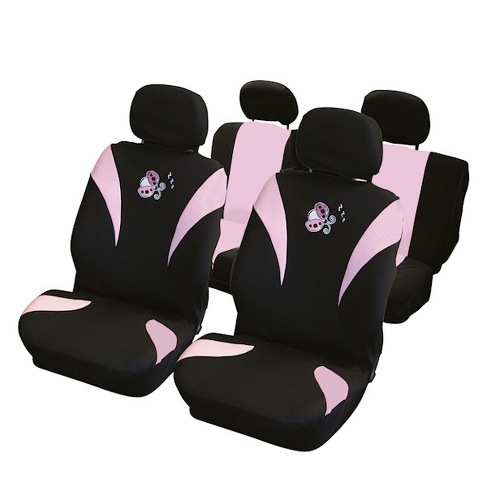 carpoint housse de voiture compatible airbag motif. Black Bedroom Furniture Sets. Home Design Ideas