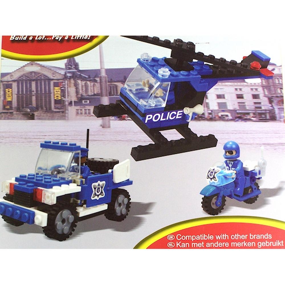 Jeu de construction - Type briques - Police - Compatible avec autres marques pour 10€