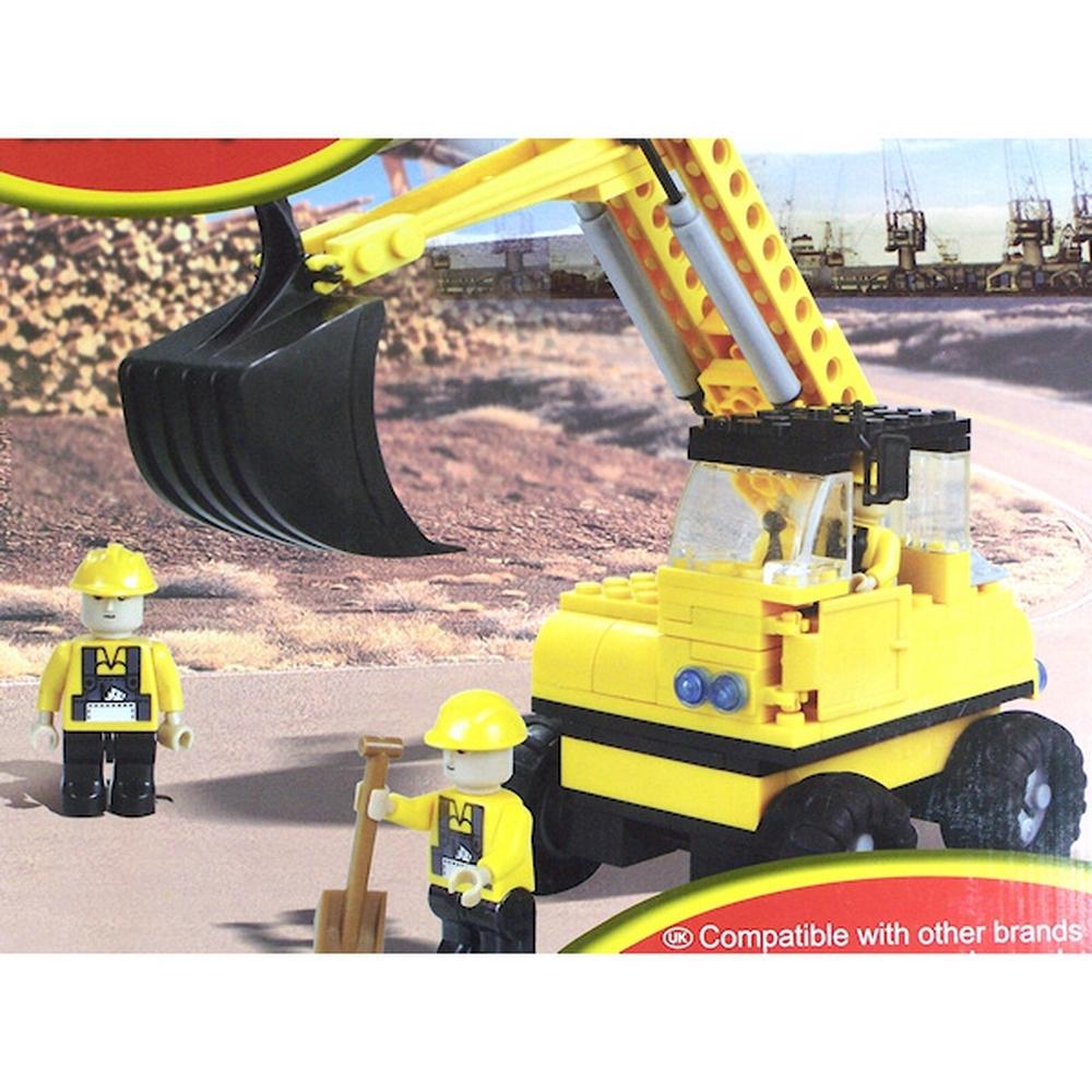 Jeu de construction - Type briques - Travaux - Compatible avec autres marques pour 10€