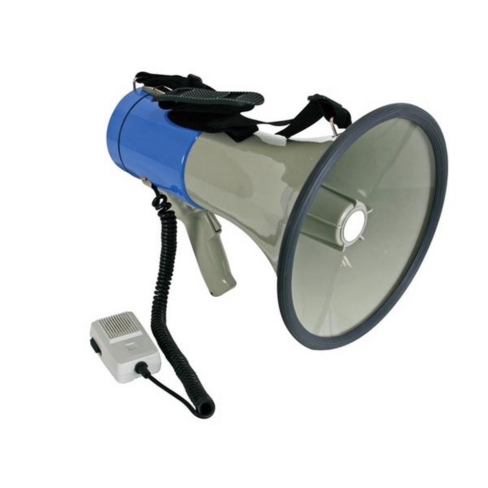 MégaPhone - Porte Voix - Portée jusqu'à 500m - Puissance 25W - Gris pour 44€