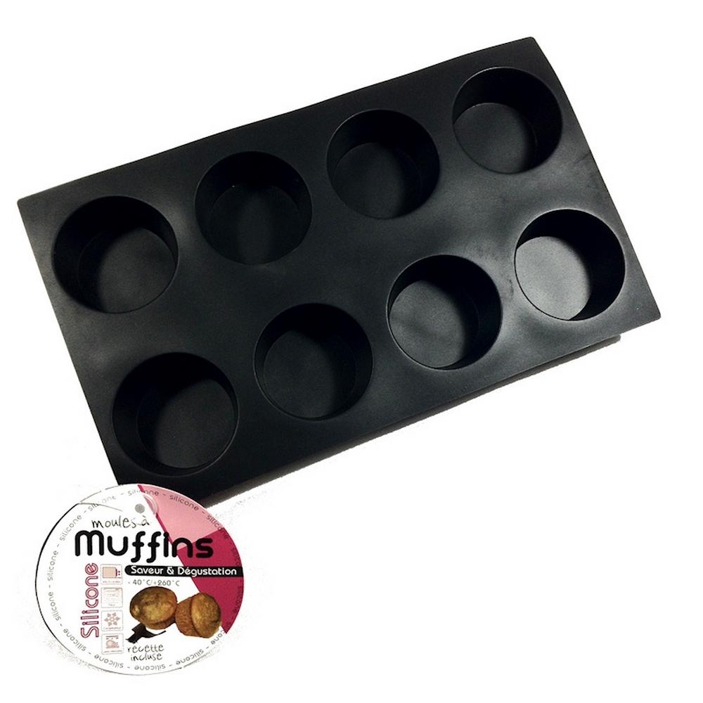 Moule silicone - Saveur et dégustation - 6 Muffins pour 7€