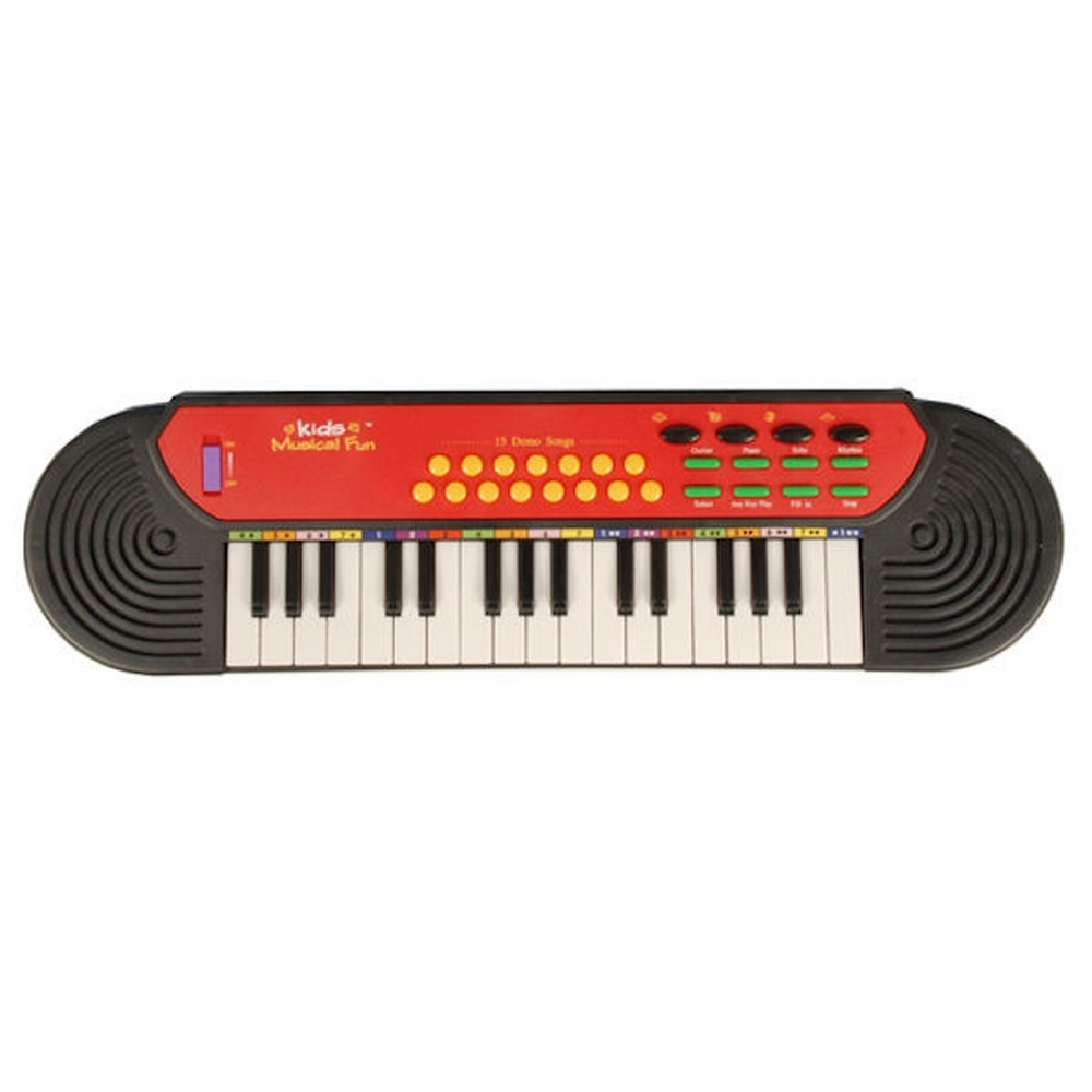 Clavier électronique 32 touches - Synthétiseur guitare piano - 15 chansons démo pour 15€