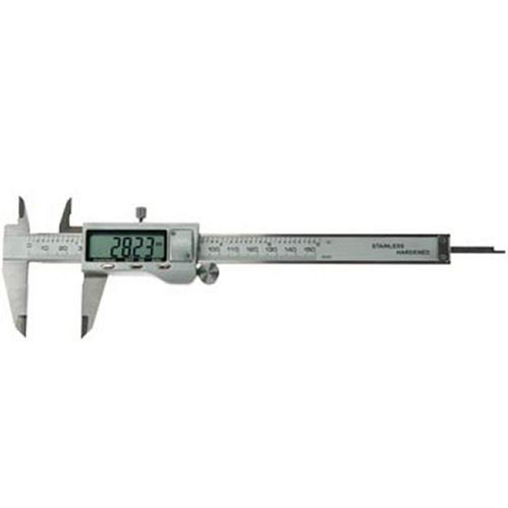 Pied à coulisse de précision - Comptage numérique - Max.150mm pour 28€