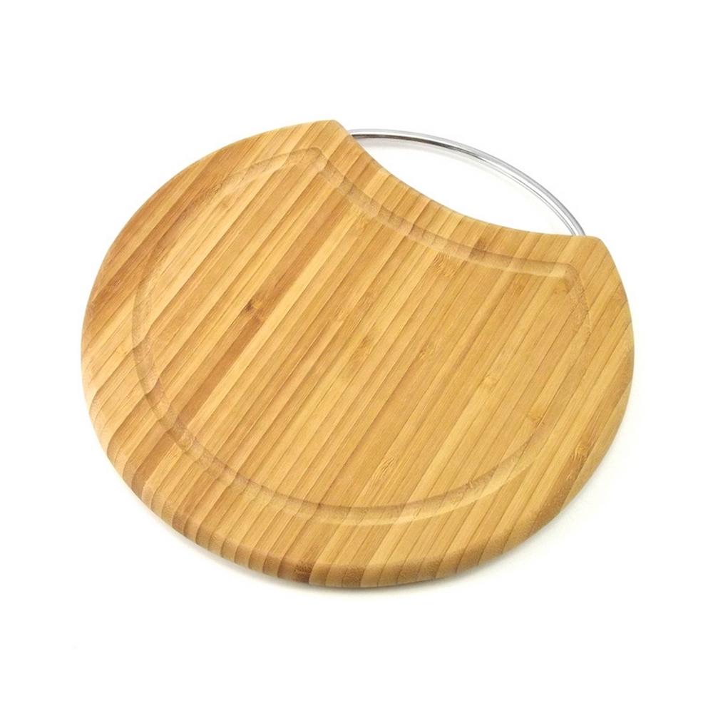Planche à Découper - Avec poignée - Bambou pour 10€