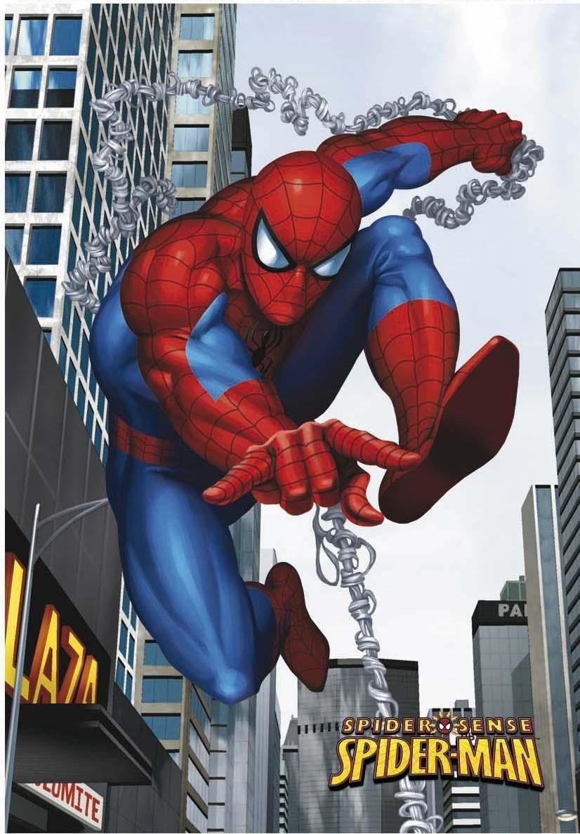 Plaid Couverture - Spiderman sense chain - 130x160cm pour 13€